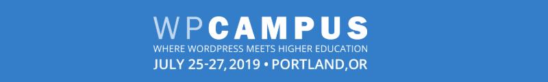 WPCampus 2019