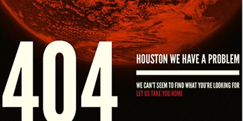 Future of Web Design 404 page