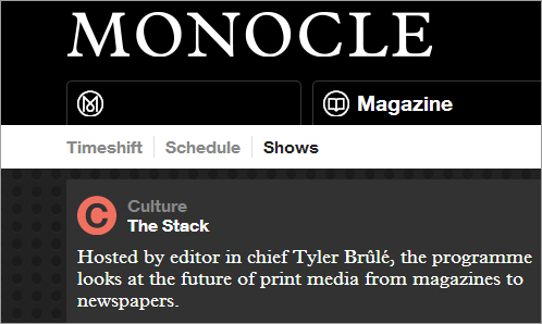 The Stack | Monocle 24