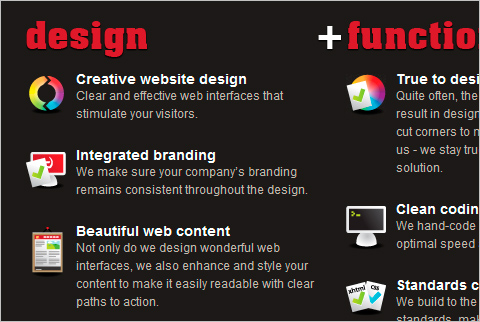 Dubbed Creative homepage