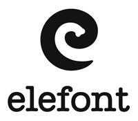 The Elefont logo.