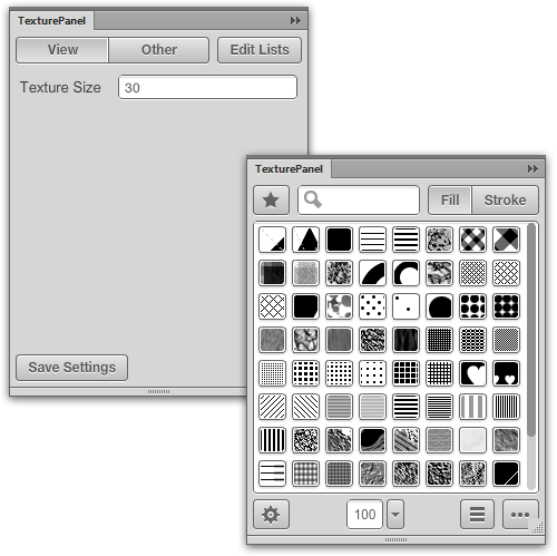 Texture size setting