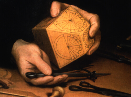 who invented the geometric compass
