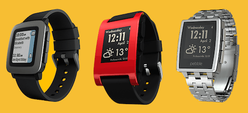 The Pebble was one of the first successful smartwatches on the market
