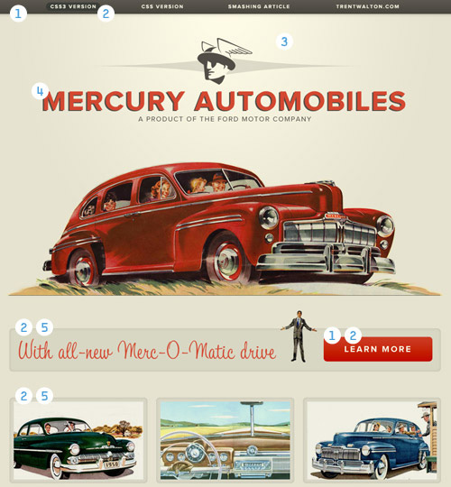 Mercury Automobiles Diagram