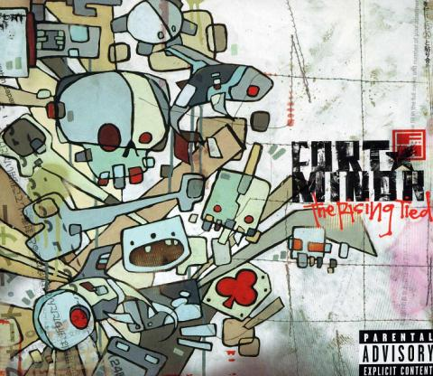Showcase of Beautiful Album and CD covers - Fort-Minor - The Rising Tied Front
