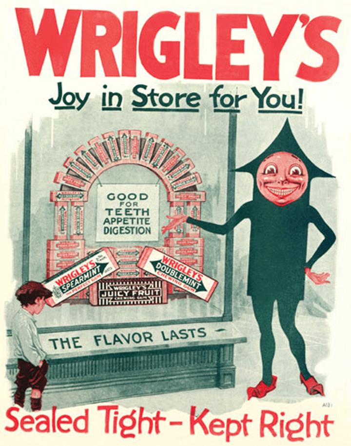 Wrigley's Spearmint Ad