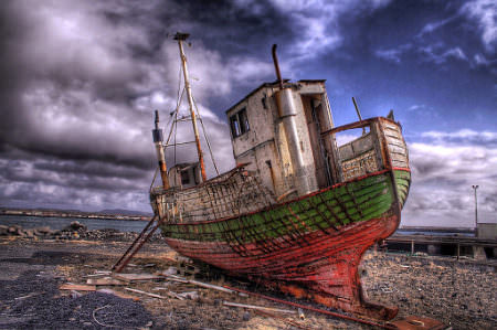 HDR Photos - I have sailed the seven seas ...