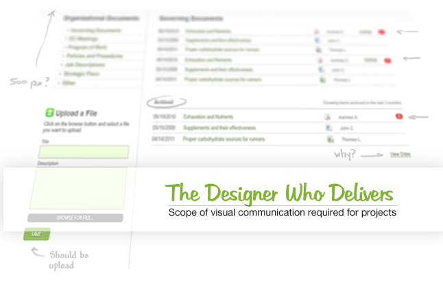 The Designer Who Delivers