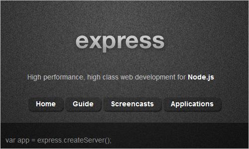 Express - Node web framework