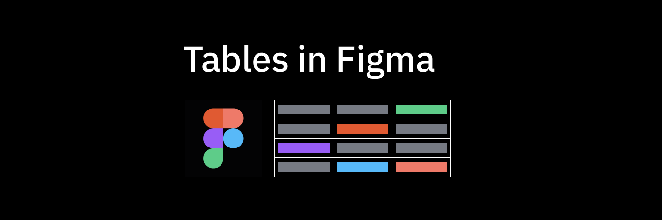 Creating Tables In Figma