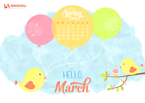 Desktop Wallpaper Calendars March 2016 Smashing Magazine