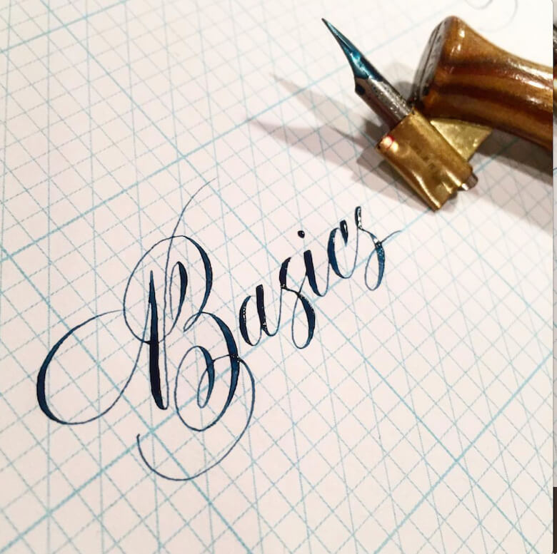 Left Handed Brush Lettering How To Get Started