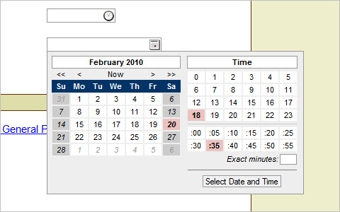 Date / Time Picker