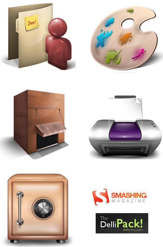 Smashing Icon Set
