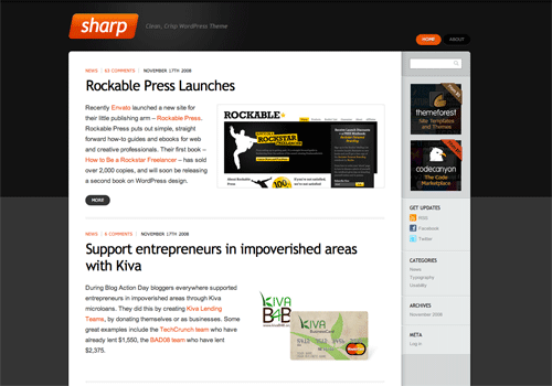 Rockable Press WordPress Theme