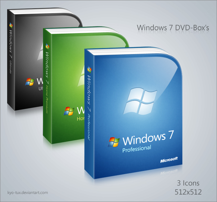 Windows 7 DVD-Box