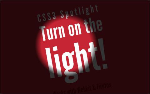 CSS3 Spotlight