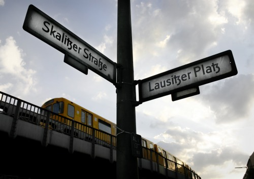 Wayfinding and Typographic Signs - berlin-street-signs
