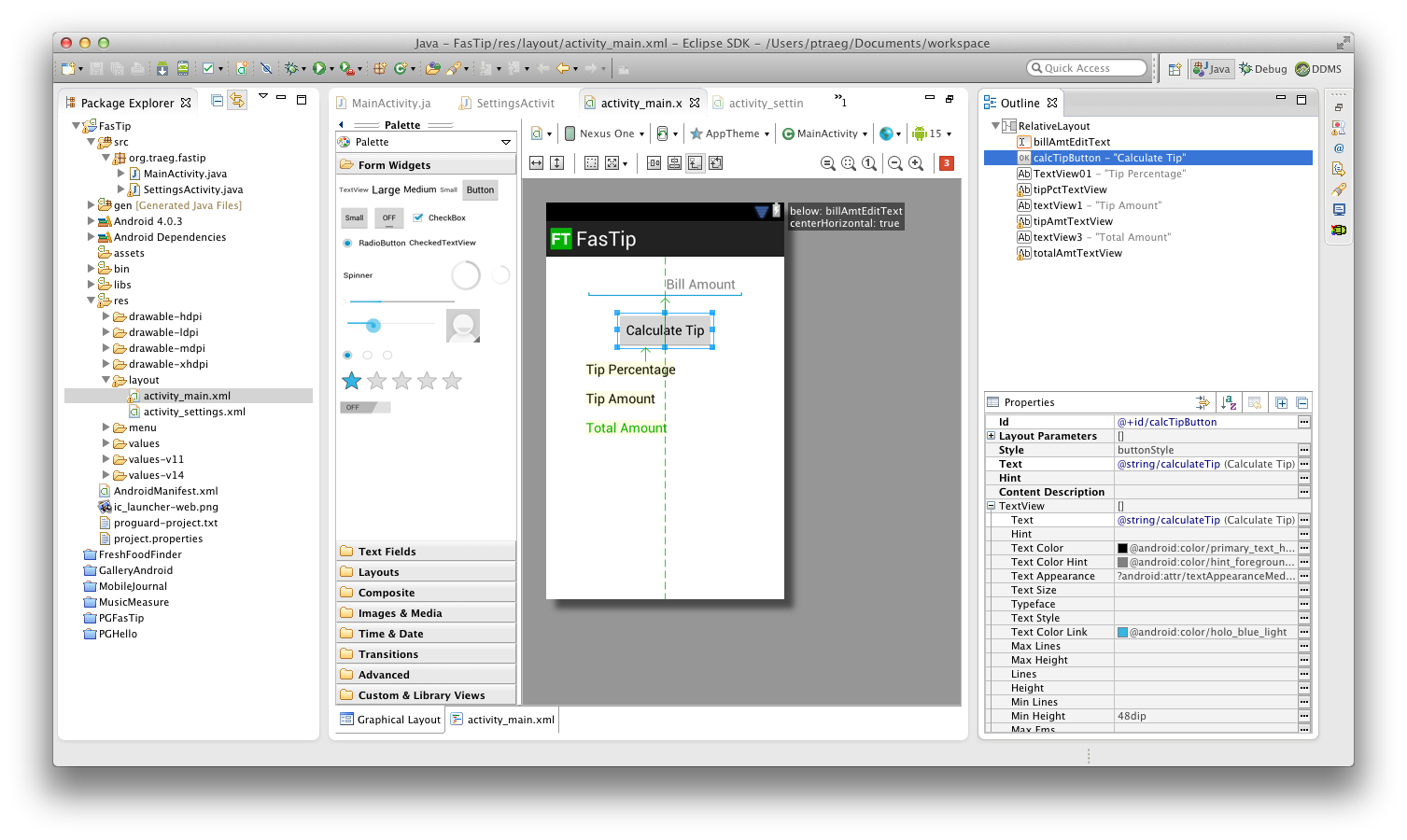 adt layout editor - Android Ui Maker