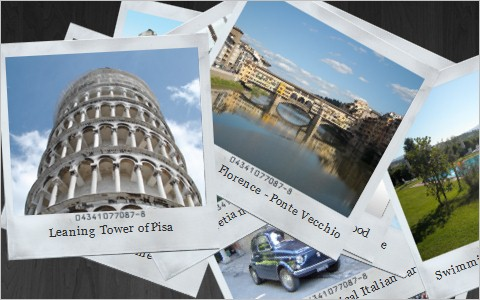 Creating a polaroid photo viewer with CSS3 and jQuery