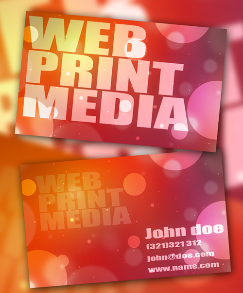 Print fit business card printing kit gallery card design and card print fit business card printing kit download image collections business card design starter kit showcase tutorials reheart Image collections