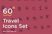 60 Travel Icons To Awaken Your Wanderlust (Freebie)