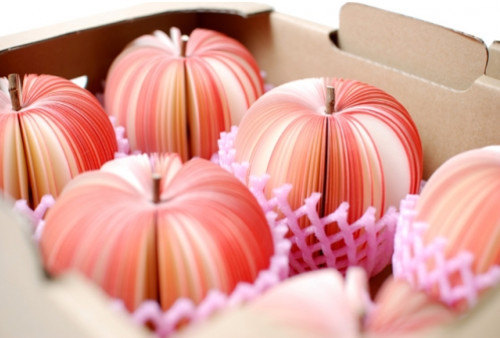 Paper Art Apples
