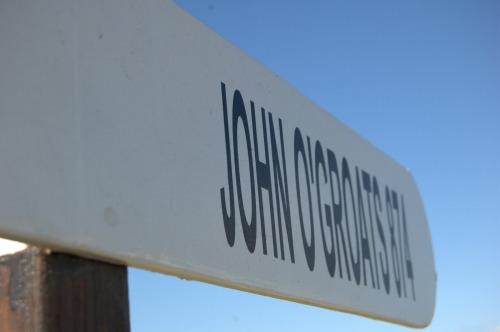 Wayfinding and Typographic Signs - john-ogroats1