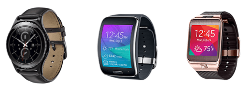 Gear is a series of smartwatches from Samsung