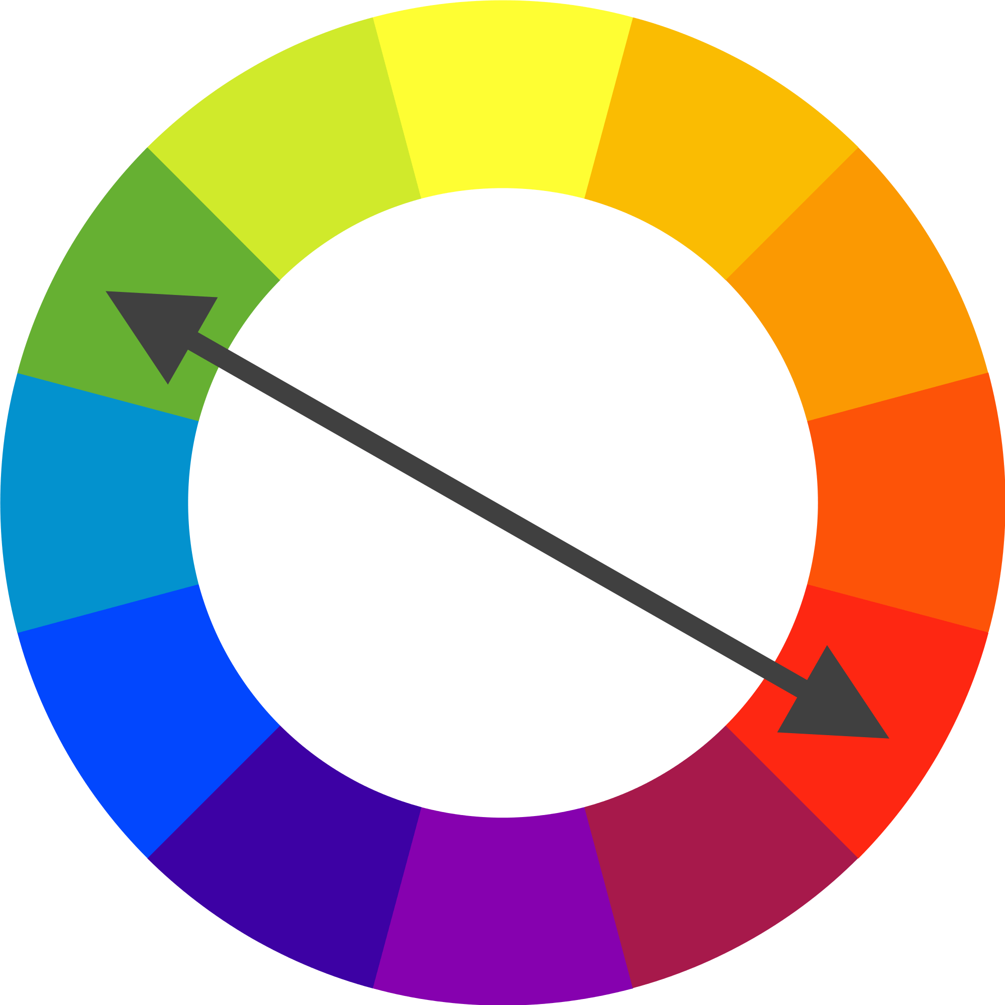 Complementary Colors Are Opposite Of Each Other On The Color Wheel Large Preview