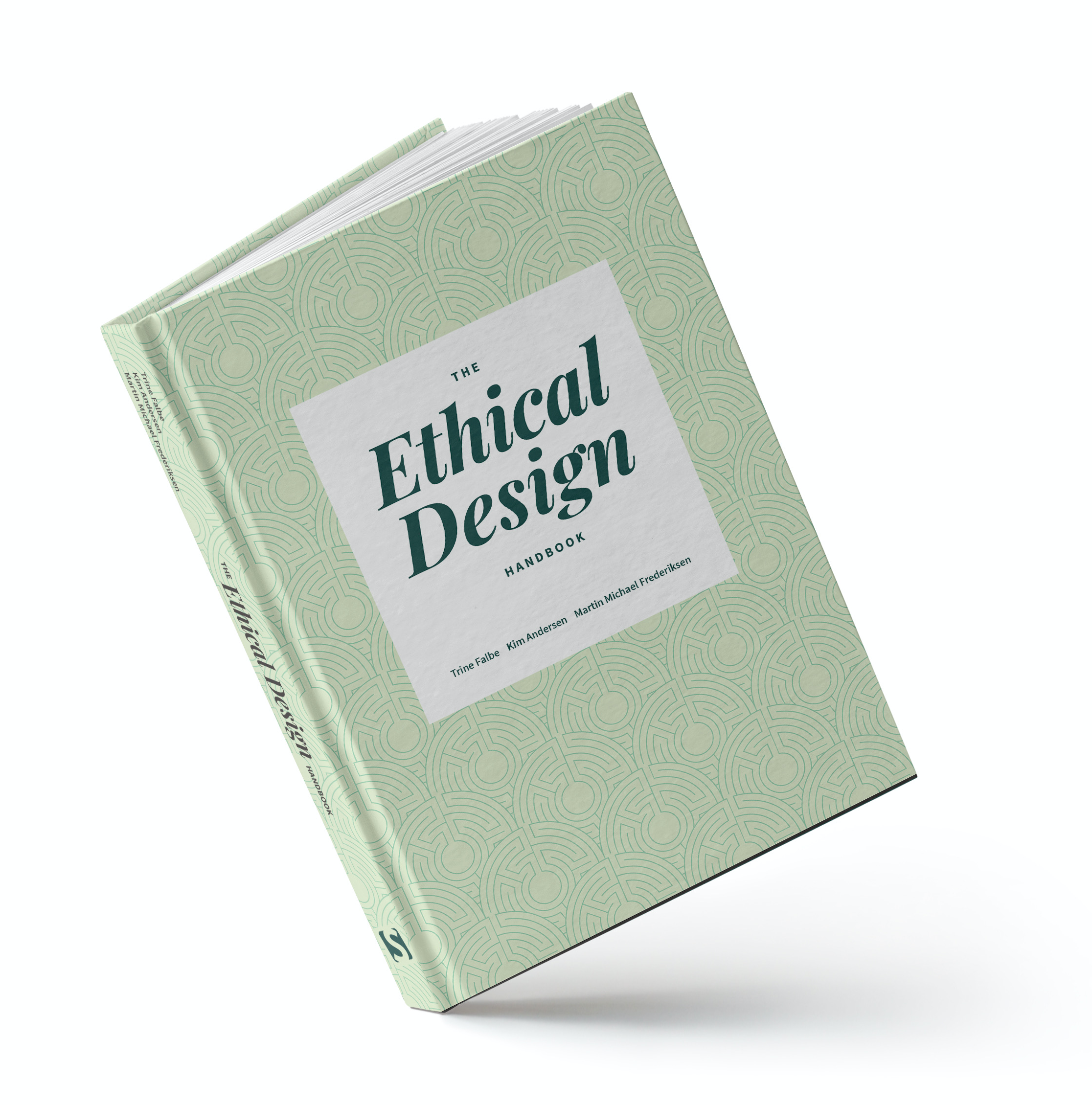 The cover of the Ethical Design Handbook