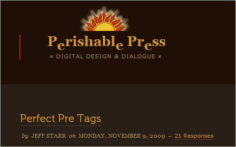 How to Create Perfect Pre Tags