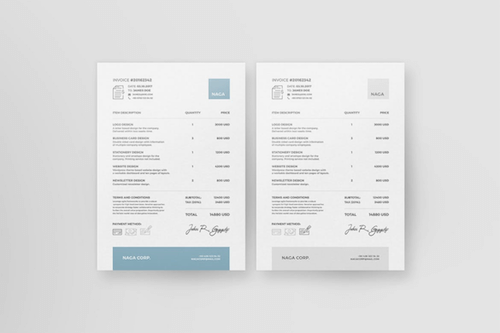 Invoice Like A Pro Design Examples And Best Practices