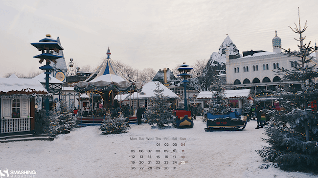 Christmas Wallpaper — Winter In Copenhagen