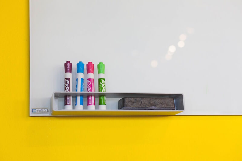 Whiteboard and dry-erase markers