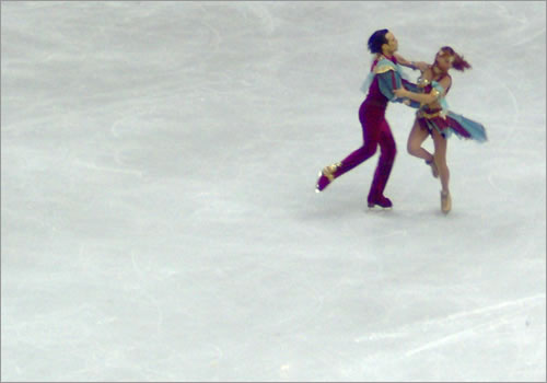 Artistic Merit in ice dance.