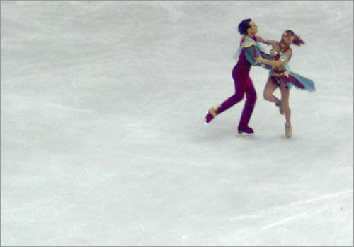 Artistic Merit in ice dance.