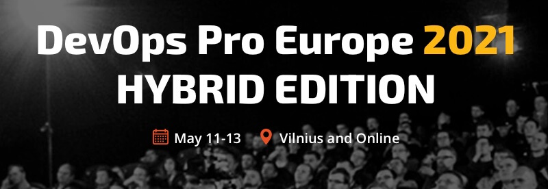 DevOps Pro Europe 2021 Hybrid Edition