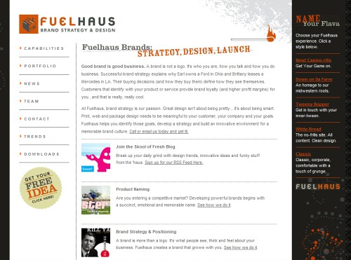 Retro and Vintage Designs - Fuelhaus Brand Strategy, Marketing, Design Agency