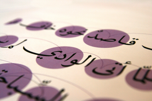 The Art And Craft Of Arabic Type Design