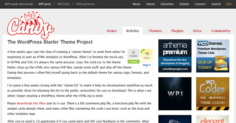 Wordpress Theme Development Frameworks — Smashing Magazine