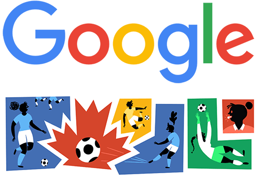 Google doodle for the 2015 FIFA Women's World Cup