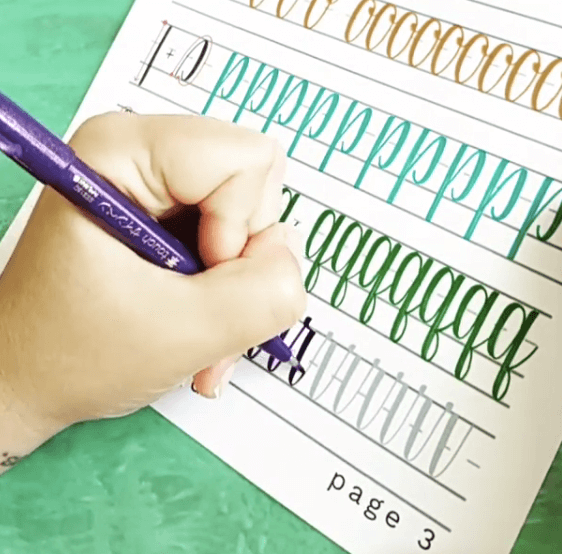 Left-Handed Brush Lettering: How To Get Started