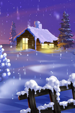 Winter and Christmas iPhone Backgrounds And Wallpapers