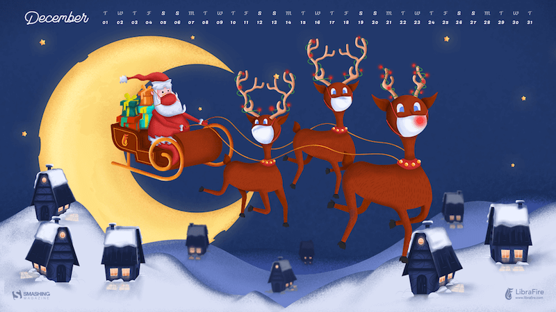 Dreaming Of A Magical December (2020 Wallpapers Edition)