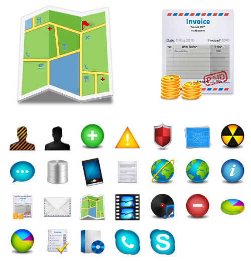 Icon Pack: 256×256 Business Icons