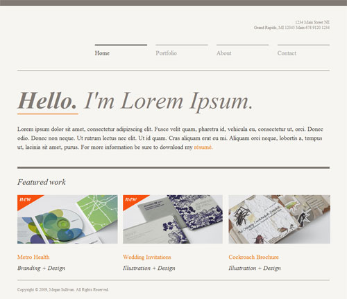 Type Layout For Free Download - Website Contest Entry