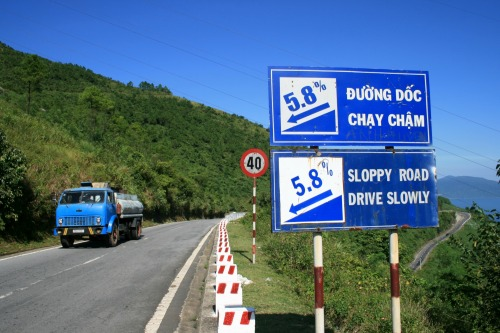 Wayfinding and Typographic Signs - sloppy-road-drive-slowly