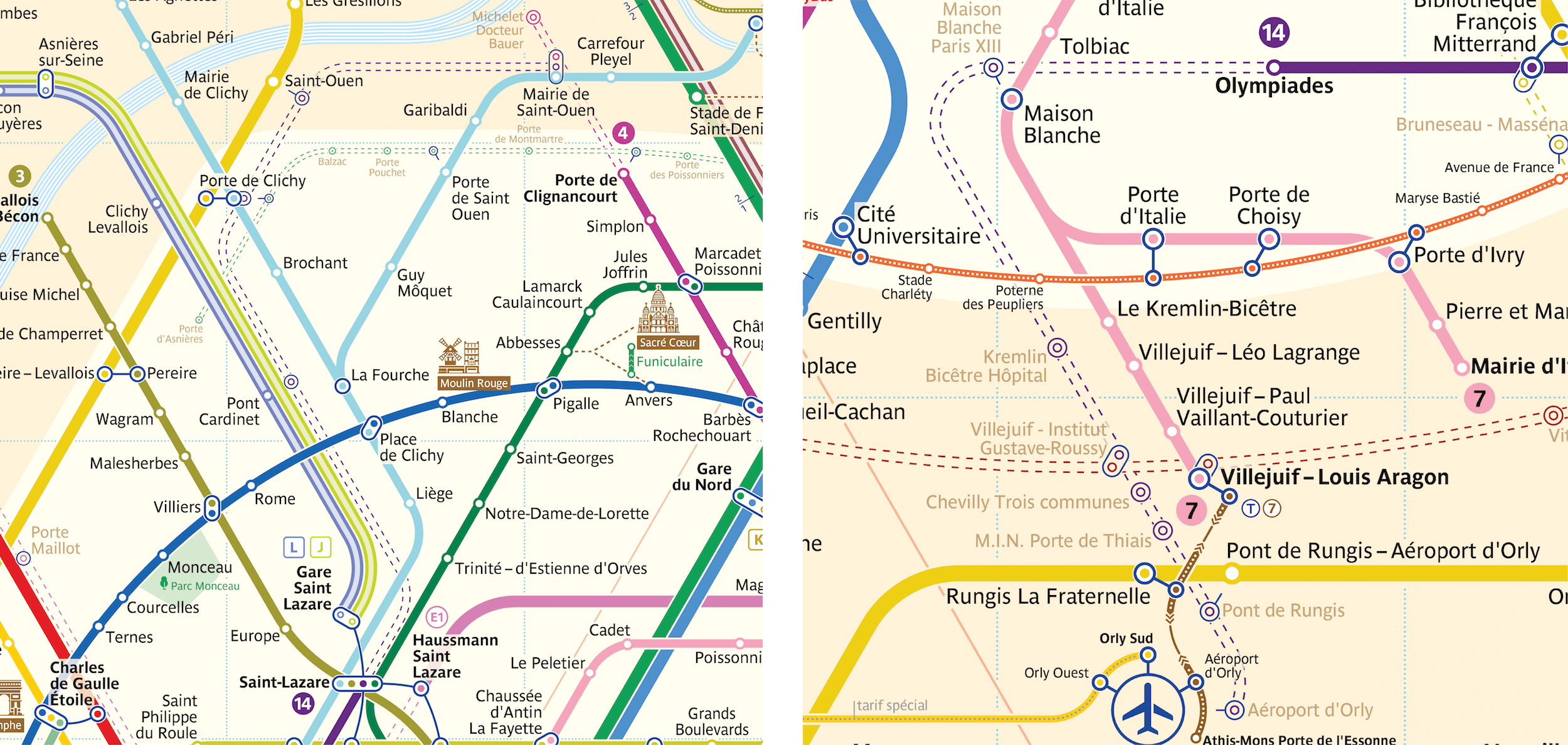 Paris Metro Map The Redesign Smashing Magazine